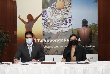 Firma de convenio con la Cámara de Comercio, Industrias y Agricultura de Panamá